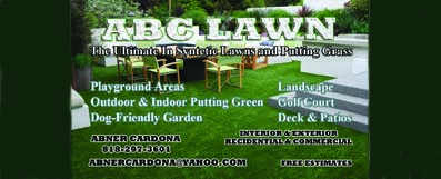 ABC Artificial Grass – Horizontal Revolving Ad