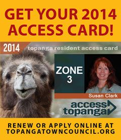 2014 Access Cards – Vertical Revolving Ad
