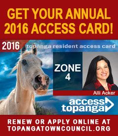 2015 Access Cards – Vertical Revolving Ad