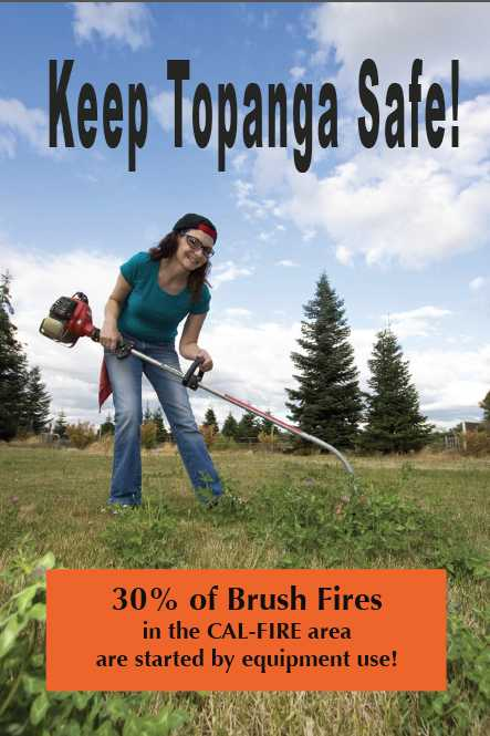 Brush Clearing Postcard Front Pic
