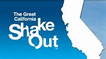 Great Califonia ShakeOut logo