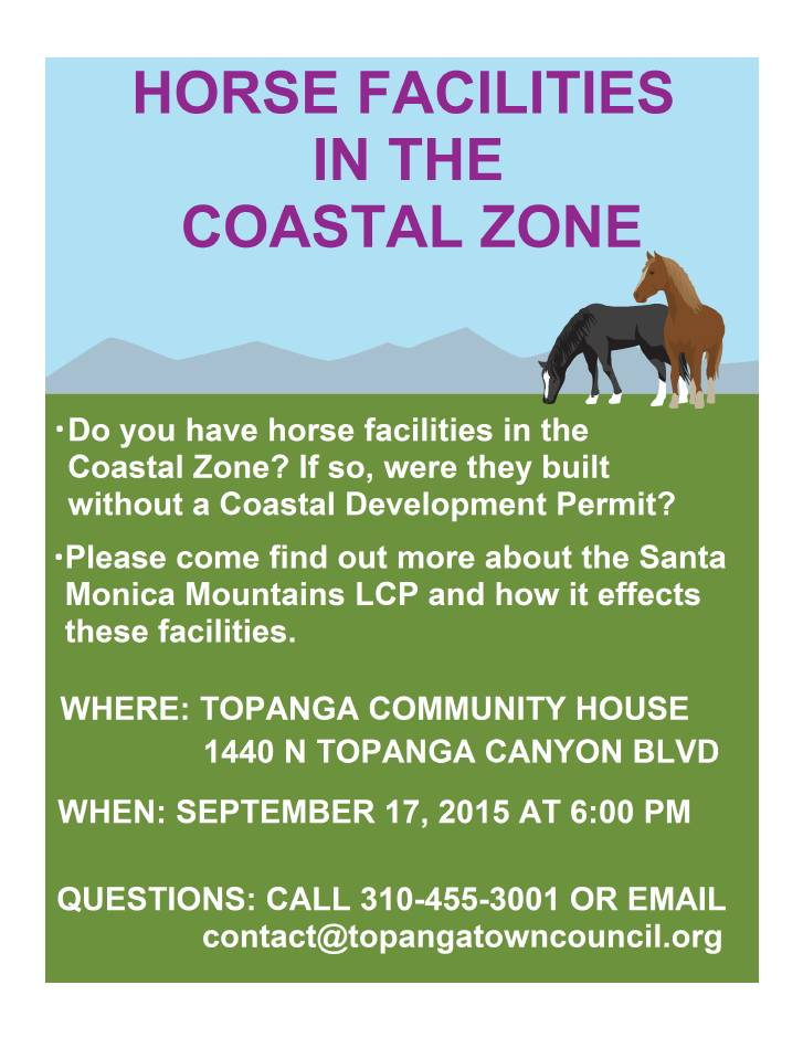 Horse Facility Compliance meeting poster