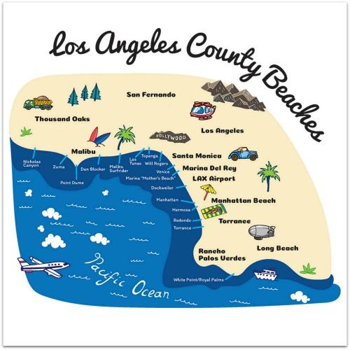 LA County Beach Website