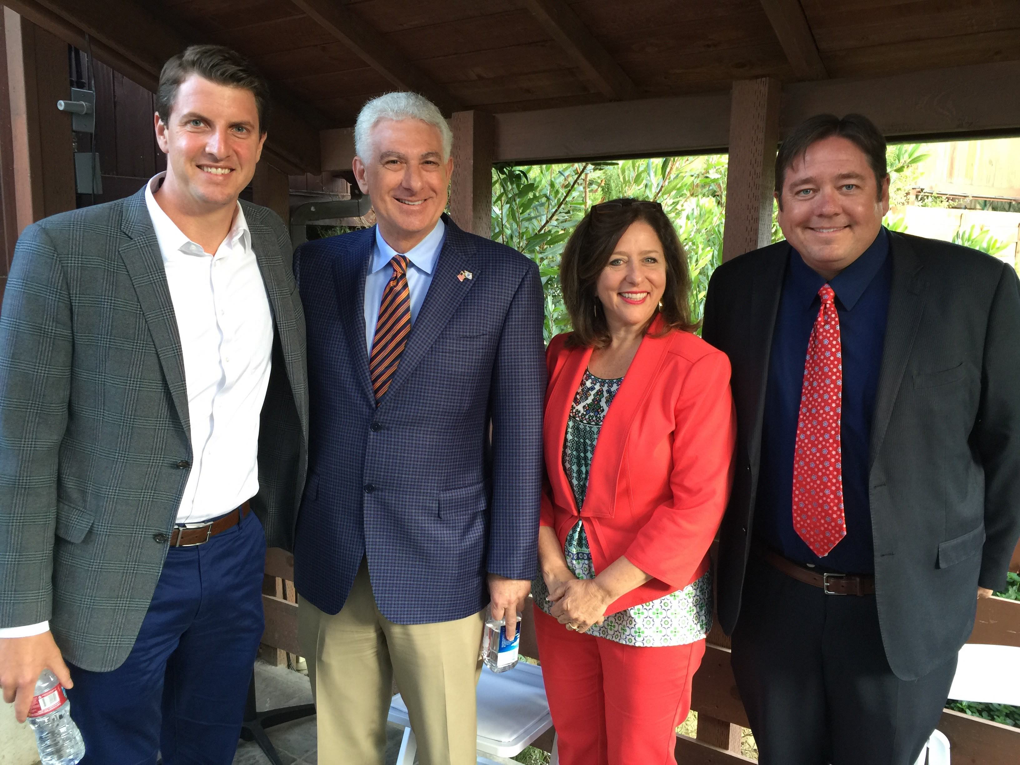 State Senate District 27 Candidates group