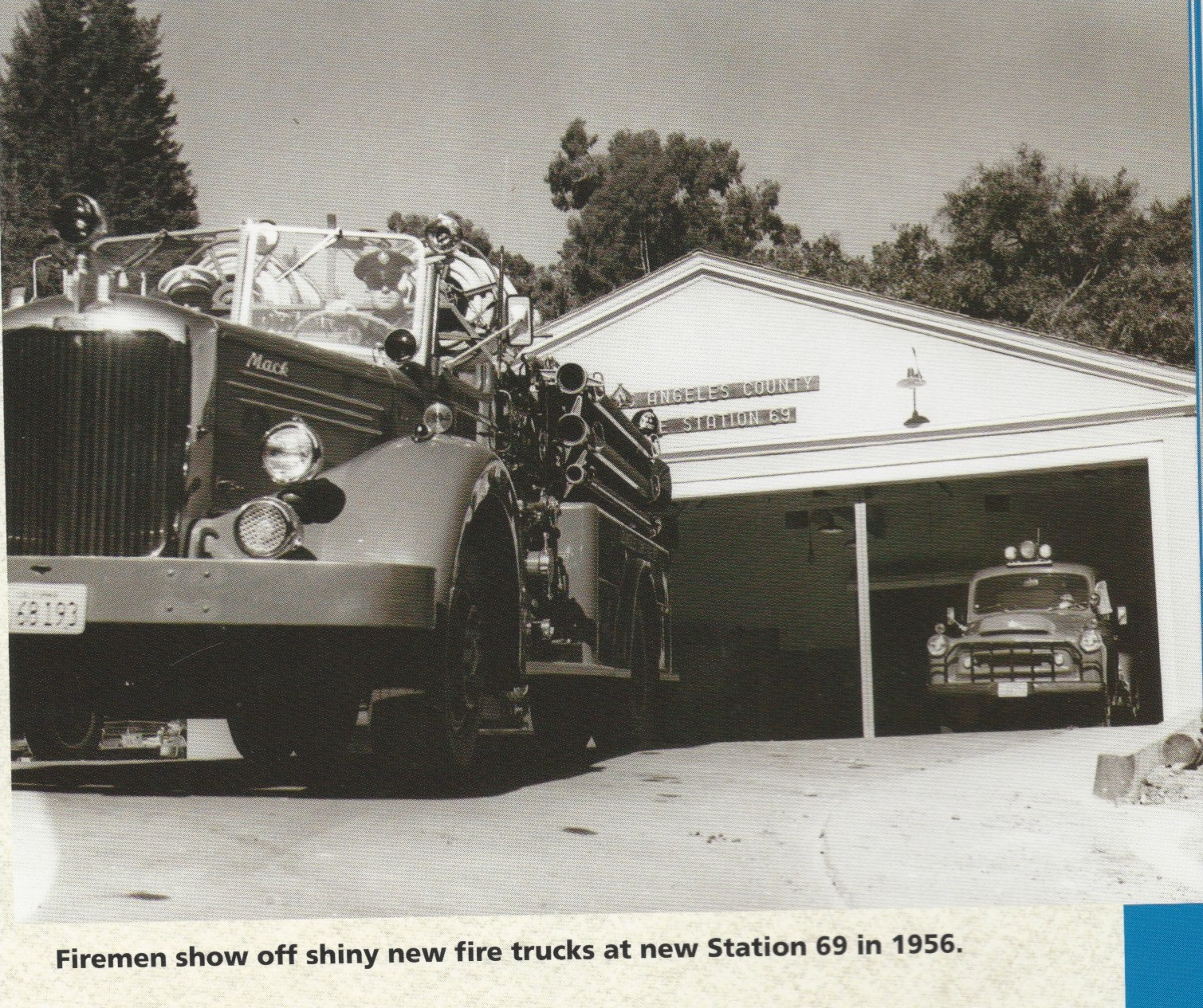Station 69 Fire Truck 1956 Topanga Historical Society lores