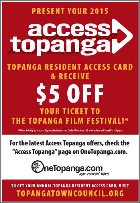 TFF Access Topanga Poster