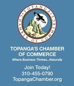 Topanga Chamber of Commerce – Vertical Revolving Ad
